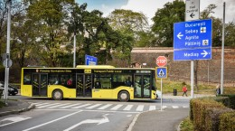 copusu tursib autobuz semne
