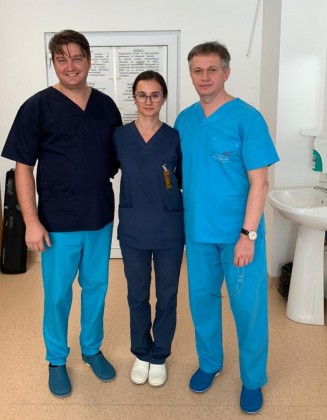 dr. Ioan Bitea, Dr Catrina B si prof Dobreanu_3
