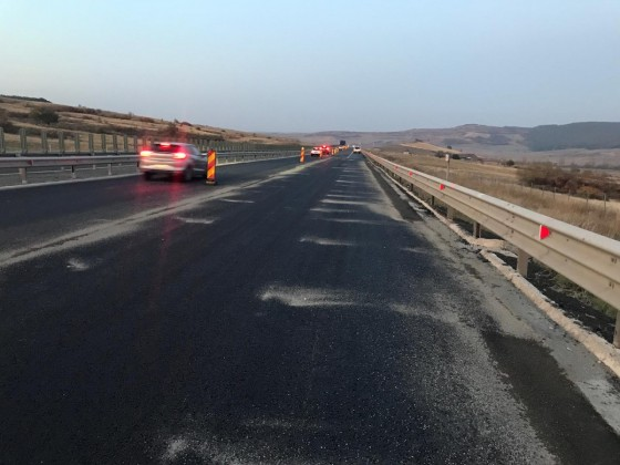 foto autostrada aciliu redeschisa 1
