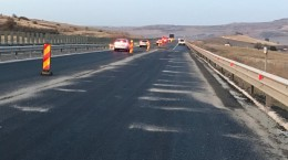 foto autostrada aciliu redeschisa