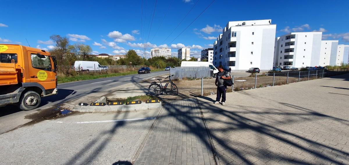 Capătul dinspre Sibiu al pistei
