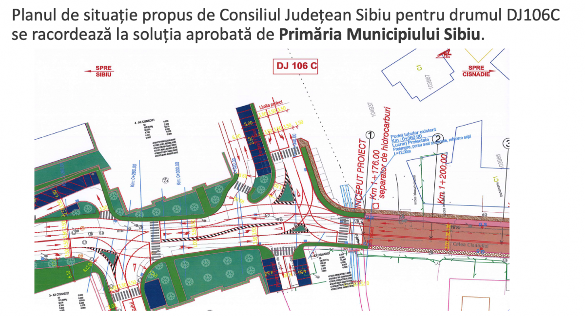 """Viziunea celor care ne conduc asupra """"cuplării"""" Sibiului cu Cisnădia"""