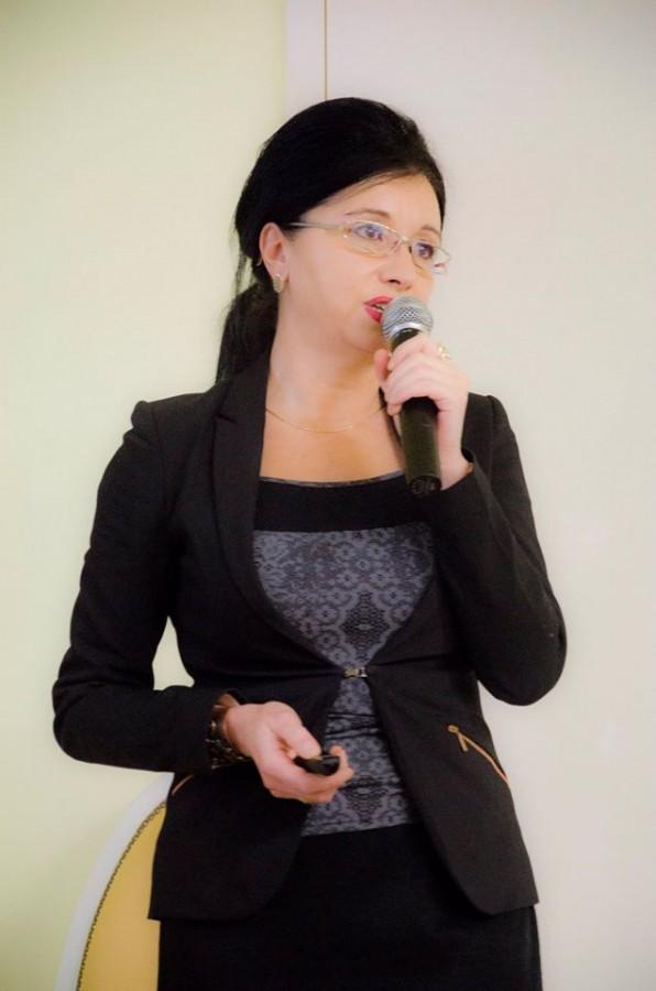 Adela Cojan. Foto: Spitalul european Polisano