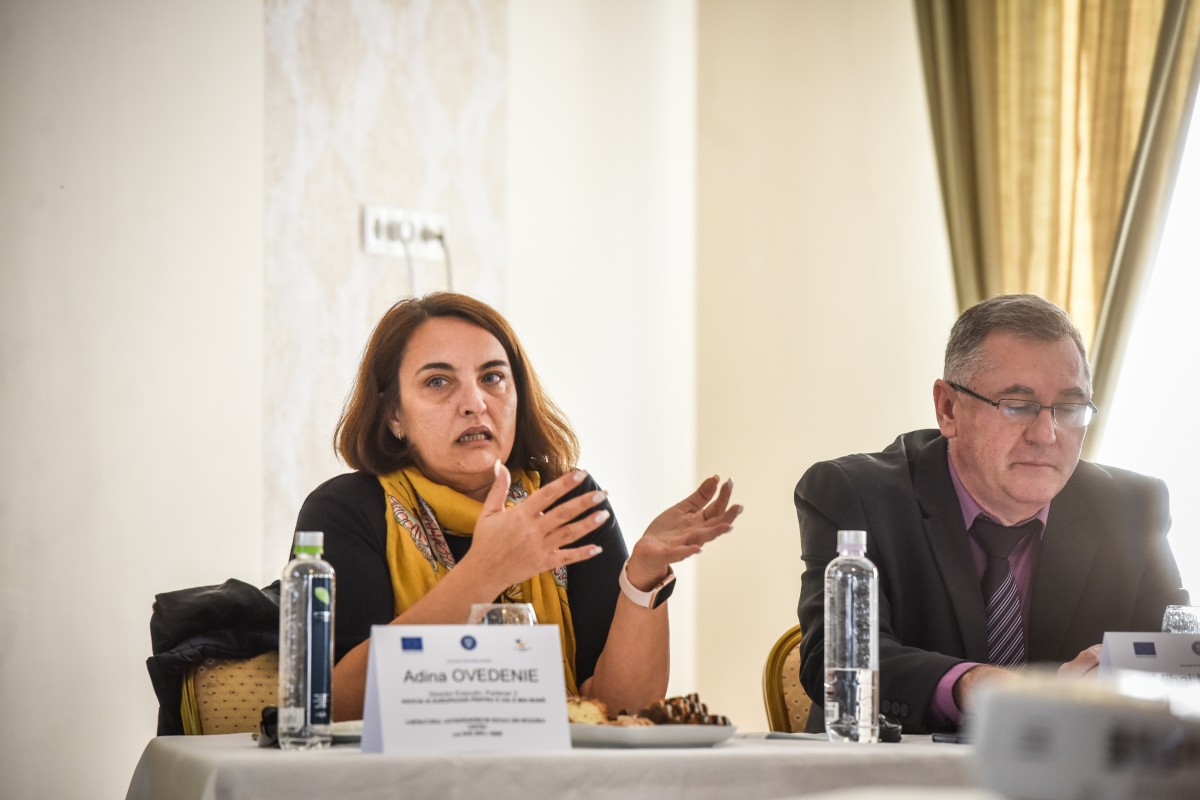 Adina Ovedenie și Mihai Indres