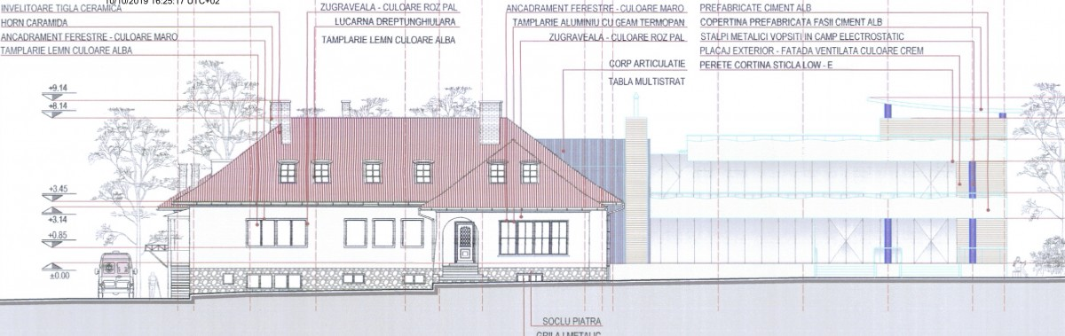 """Alături de clădirea reabilitată va fi ridicat una nouă, cu """"o estetică modernă"""""""