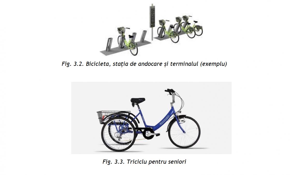 statie andocare tricicleta seniori