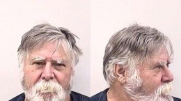 """David Wayne Oliver, 65, who according to police and media reports was arrested after allegedly robbing a bank in downtown Colorado Springs, then throwing the money into the air and shouting, """"Merry Christmas,"""" is pictured in this booking photo released by the Colorado Springs Police Department, December 24, 2019. Colorado Springs Police Department/Handout via REUTERS ATTENTION EDITORS - THIS IMAGE HAS BEEN SUPPLIED BY A THIRD PARTY."""