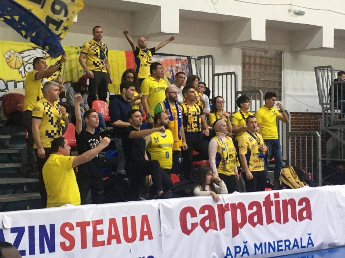 BC CSU Sibiu-Steaua 1