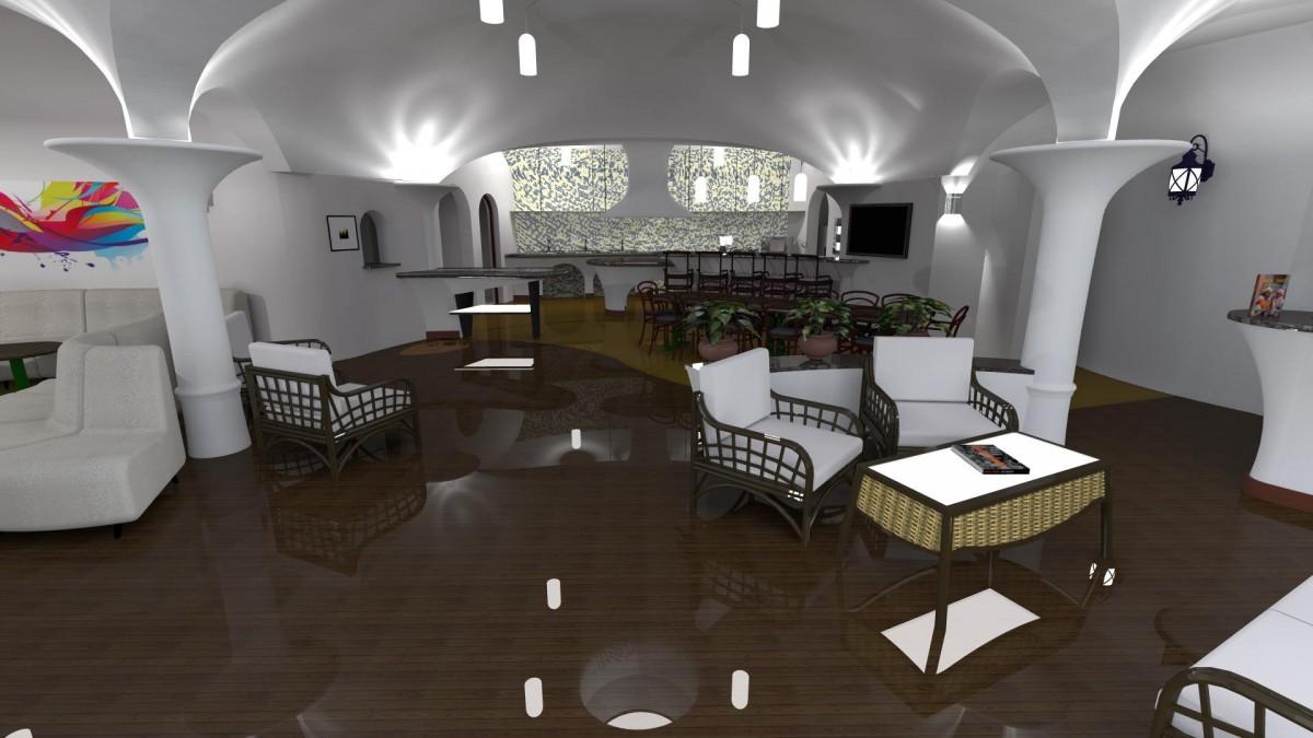 "Interior. Sursa foto: Facebook ""Dealul Verde - Pensiune"""