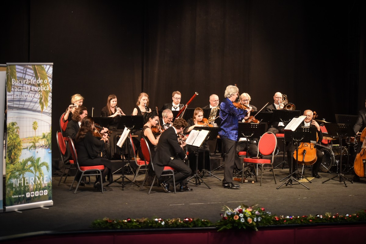 orchestra concert copii