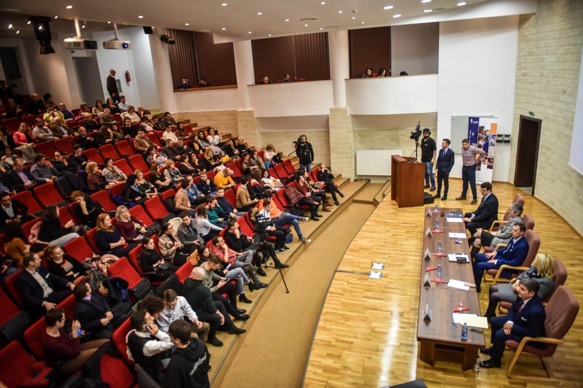 Sorin Radu, Tiplic, Livia Ilie, Dana Preda, Mihaescu dezbatere alegeri ULBS (16)