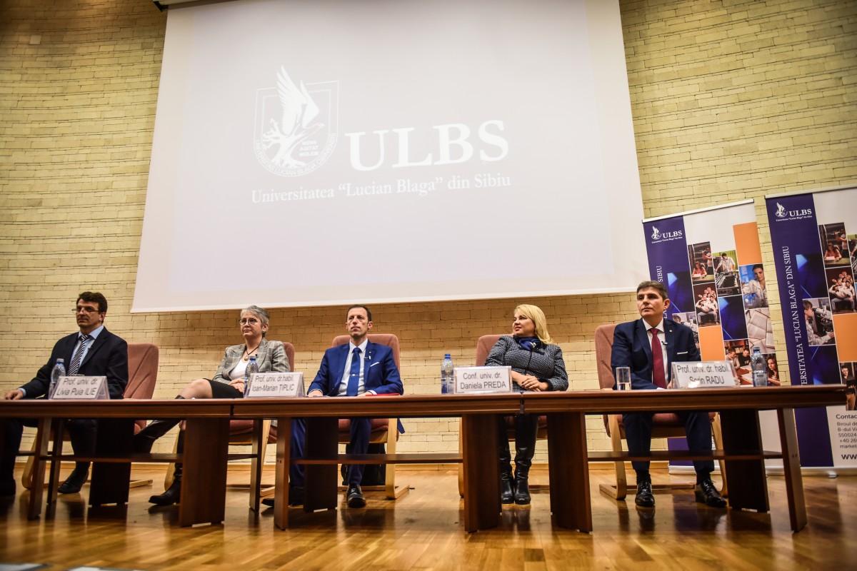 Sorin Radu, Tiplic, Livia Ilie, Dana Preda, Mihaescu dezbatere alegeri ULBS (18)