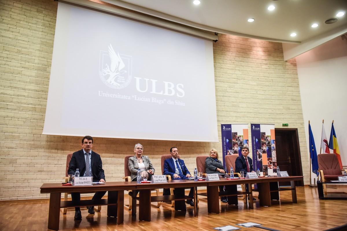 Sorin Radu, Tiplic, Livia Ilie, Dana Preda, Mihaescu dezbatere alegeri ULBS (19)