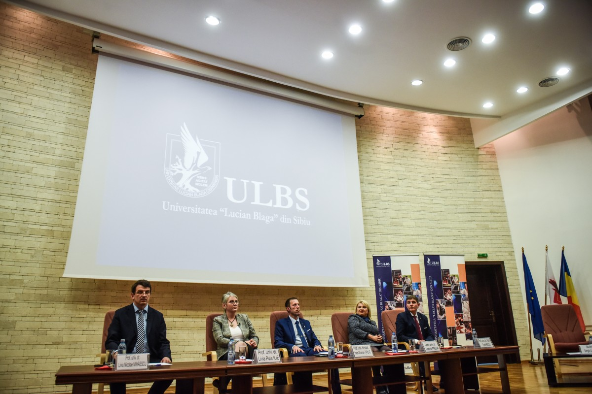Sorin Radu, Tiplic, Livia Ilie, Dana Preda, Mihaescu dezbatere alegeri ULBS (20)