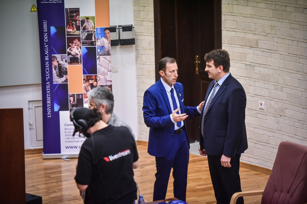 Tiplic și Mihaescu dezbatere alegeri ULBS (7)