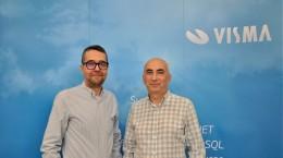 Daniel Reisenauer si Sorin Rotariu visma
