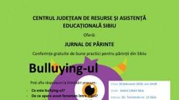 conferinta bullying