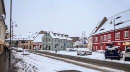 Turnului parcare sibiu iarna zapada ninsoare vreme meteo (4)