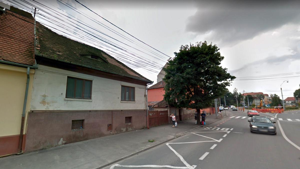 Casa și anexa de pe bulevardul Corneliu Coposu, nr. 14 Foto: Google Street View