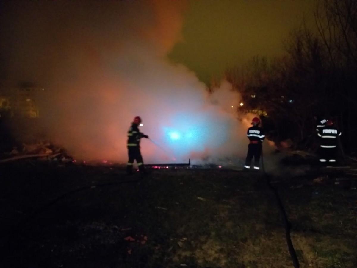 incendiu deseuri cisnadiei 1