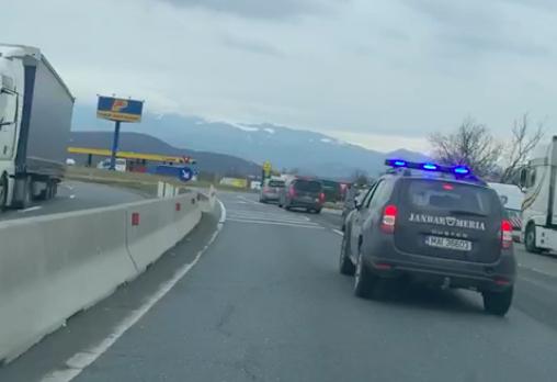 jandarmerie escorta