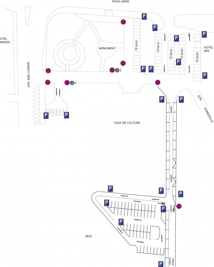 propuneri modificare parcare ibis centrul cultural