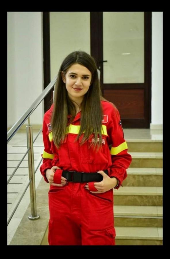 Diana Preseca, 22 de ani, voluntar SMURD