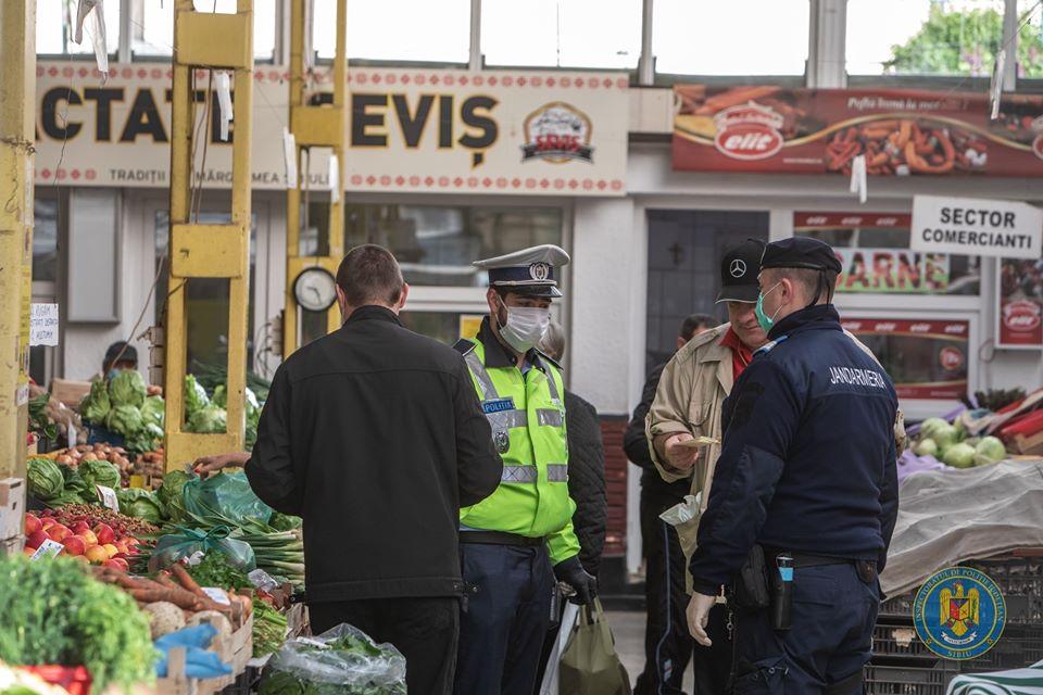 politie politist piata control stare de urgenta coronavirus (4)