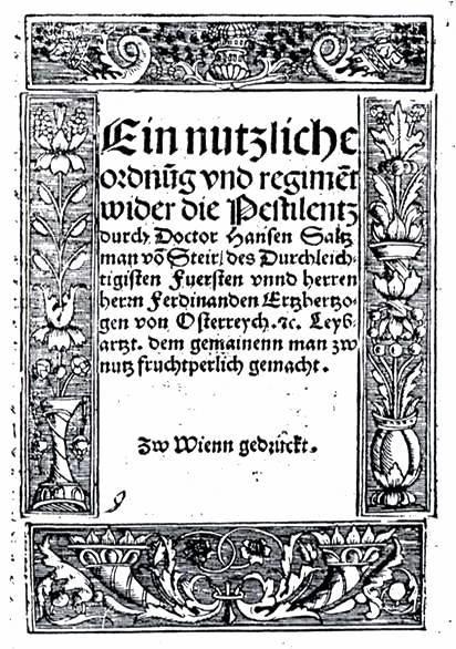 Johannes Salzmann: Ein nutzlich Ordnung … (1521)