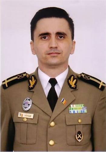 Maiorul Valentin Octavian Mărcuș