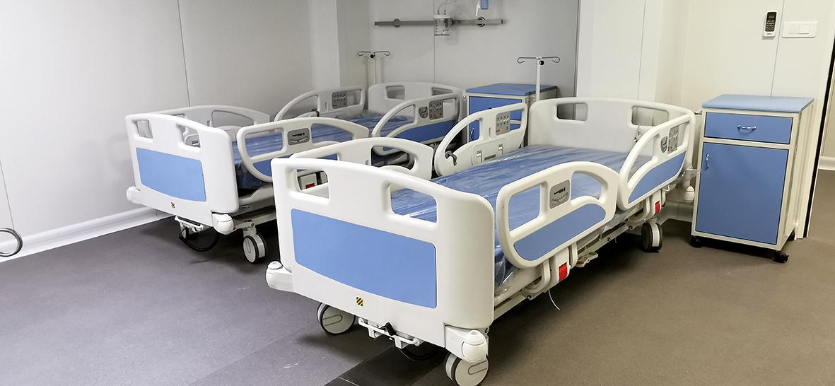 Aproximativ 32 de paturi în plus pentru pacienții de COVID 19 în spitalele din Sibiu și Mediaș