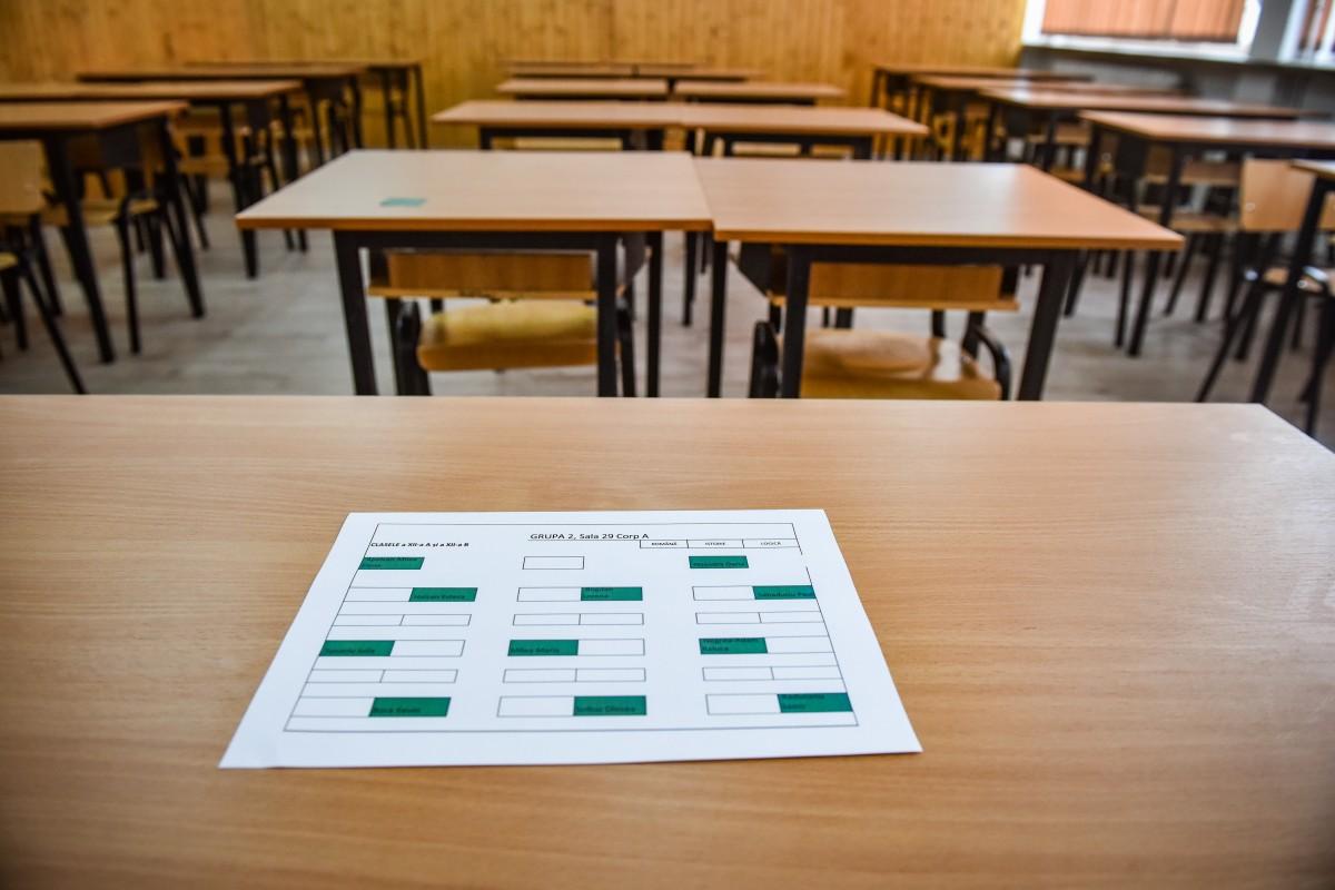 Situația cazurilor pe școli: 11 unități școlare se află în scenariul roșu