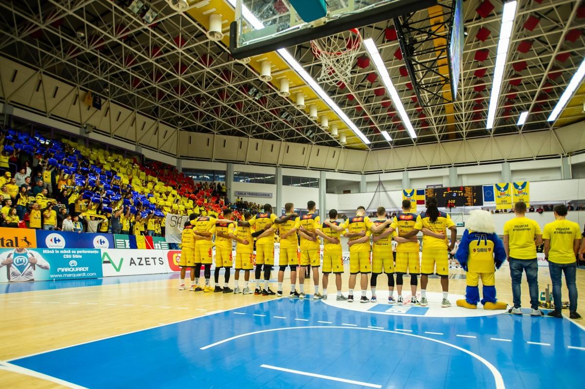 """BC CSU Sibiu: """"Am efectuat o nouă testare COVID a sportivilor care au avut rezultat negativ săptămâna trecută"""""""