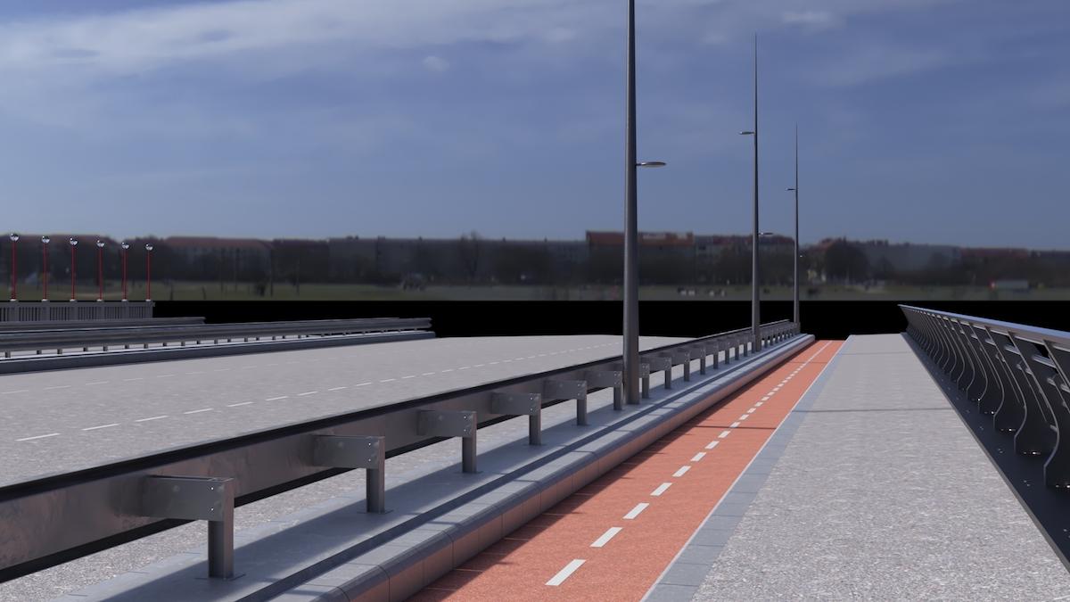 Primăria Sibiu: Modernizarea podurilor peste Cibin de pe șoseaua Alba Iulia intră în linie dreaptă