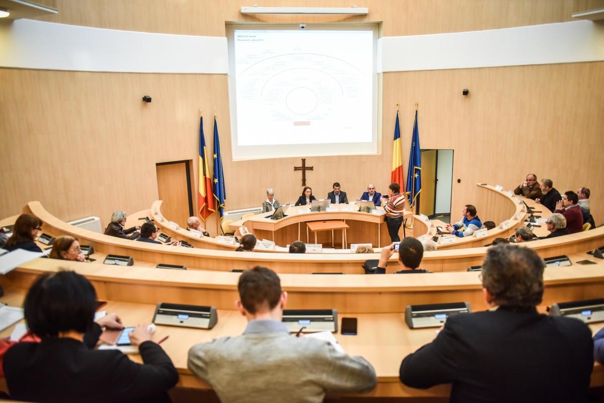 Primii aleși care vor depune jurământul în Sibiu sunt cei județeni. Ceremonia are loc în cadru restrâns