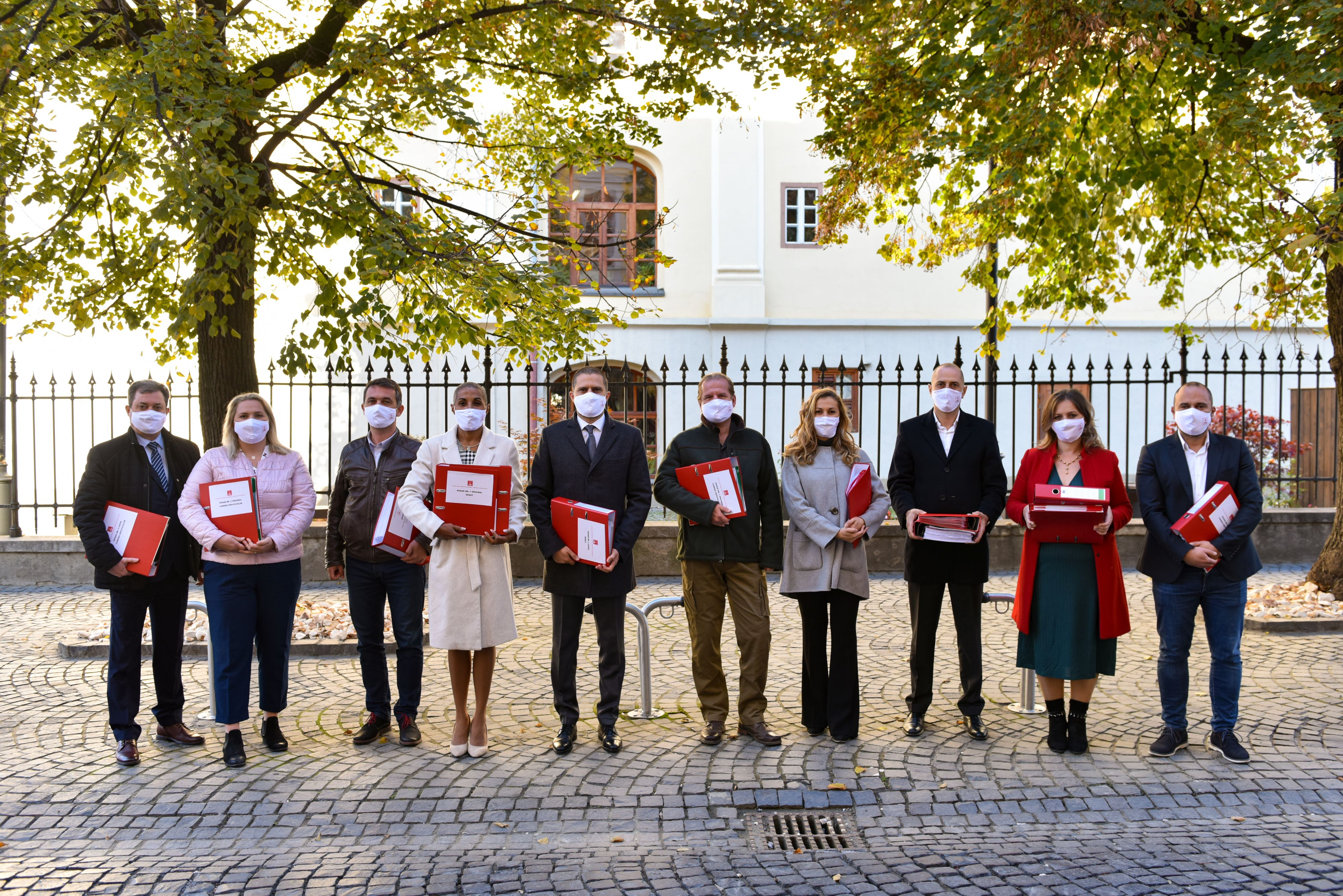 PSD Sibiu a depus dosarele candidaților pentru alegerile parlamentare