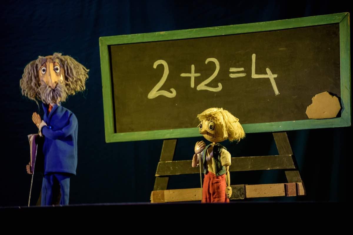 """Teatrul """"Gong"""" difuzează online aventurile lui Pinocchio"""