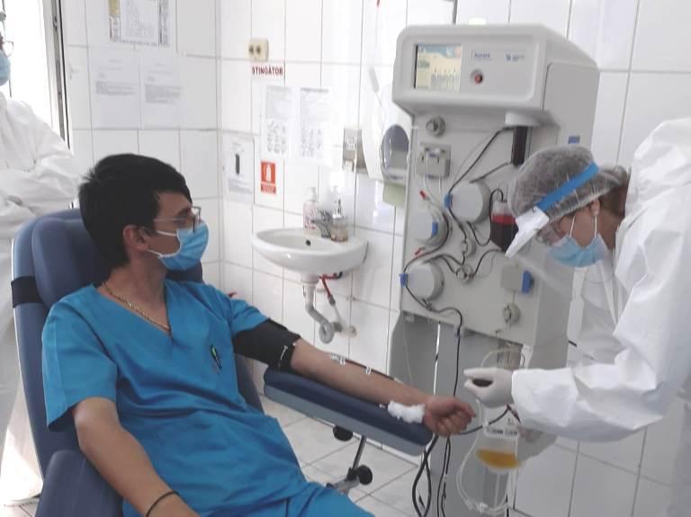 Șefa spitalului, apel pentru donare de plasmă: avem mulți pacienți vindecați de Covid-19 care pot deveni salvatori
