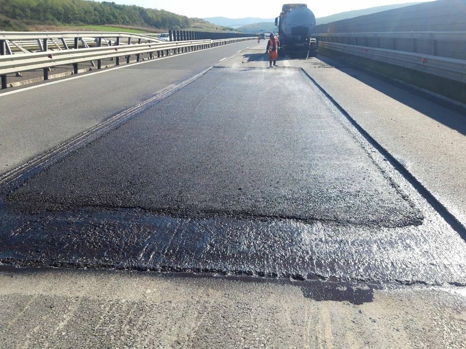 Restricții de trafic pe autostrada A1, în zona Apoldu de Jos