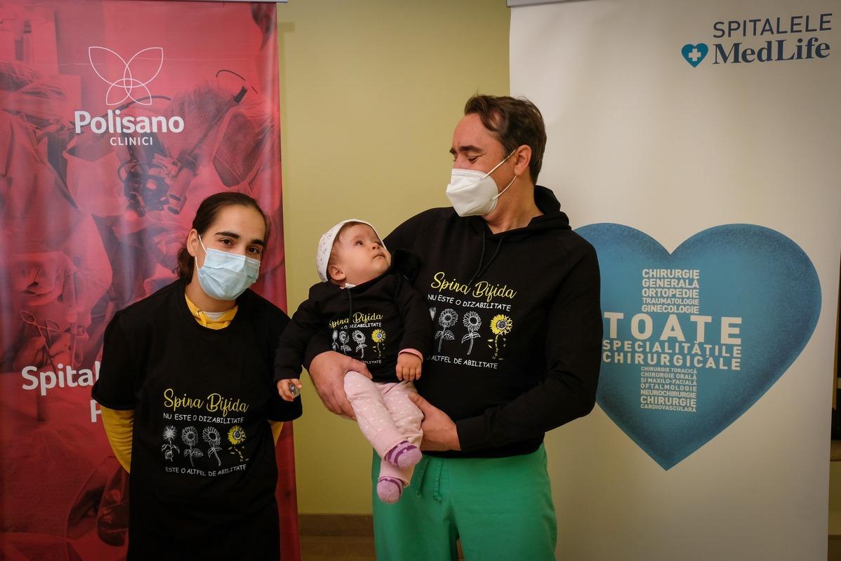 """Neurochirurgul sibian Claudiu Matei: """"Spina Bifida se poate trata!"""""""