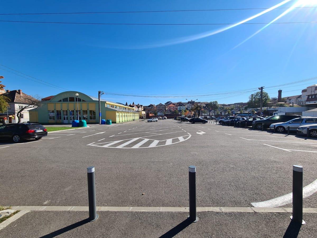 Primăria Sibiu: Parcarea Piața Teatrului, închisă în această săptămână