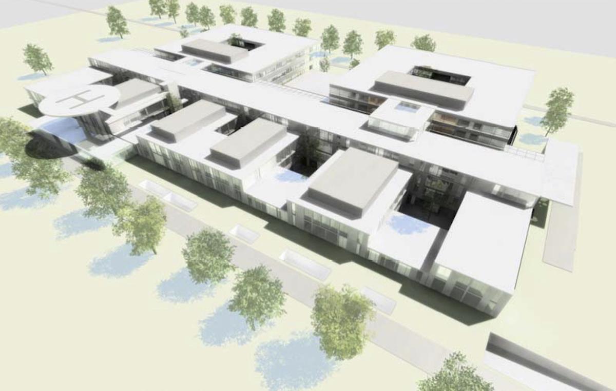Detaliile viitorului spital județean: străzi lărgite, șase zone de acces, 14 intrări, aproape 1.000 de locuri de parcare