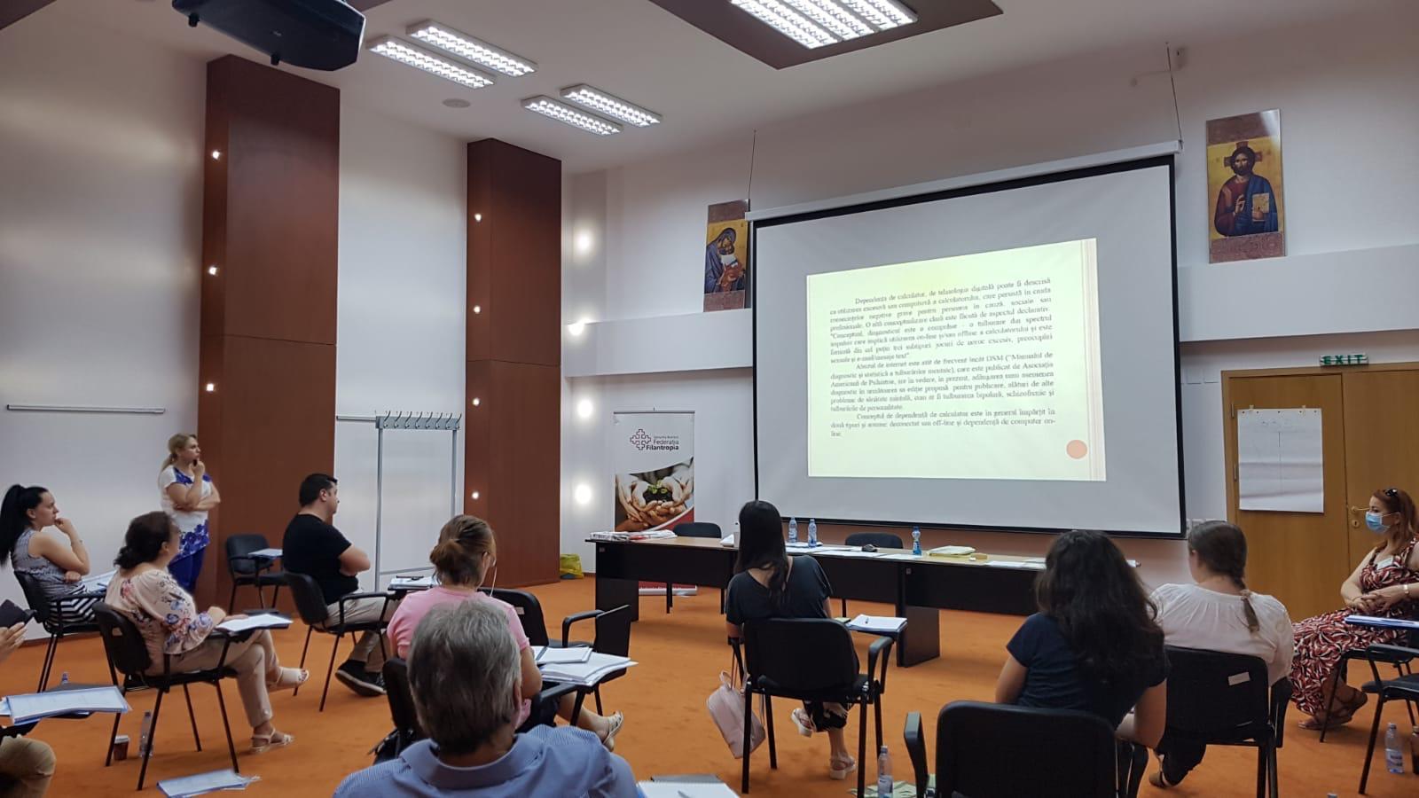 Consiliere în domeniul dependențelor în cadrul Asociației Filantropia Ortodoxă Sibiu a Arhiepsicopiei Sibiului