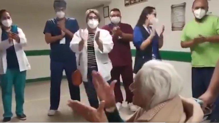O mexicancă în vârstă de 103 ani s-a vindecat de COVID-19