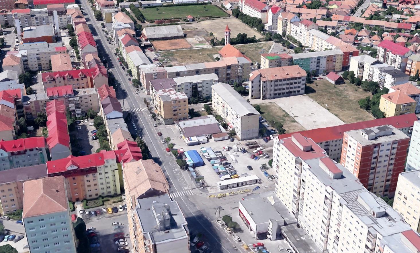 Primăria a comandat planul urbanistic zonal pentru parcarea supraetajată din Vasile Aaron