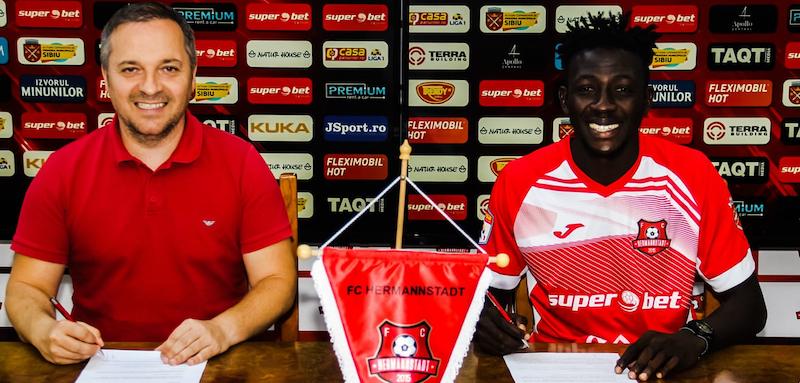 FC Hermannstadt a transferat un jucător ghanez cu experiență la Real Valladolid
