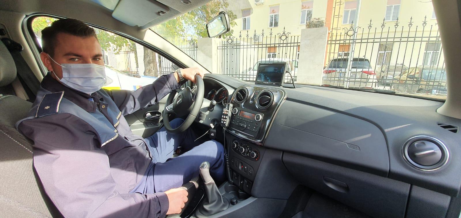 """M-am urcat în noile mașini ale Poliției Sibiu. """"Meseria aceasta e frumoasă, dar când ai dotări bune e și mai frumoasă"""""""