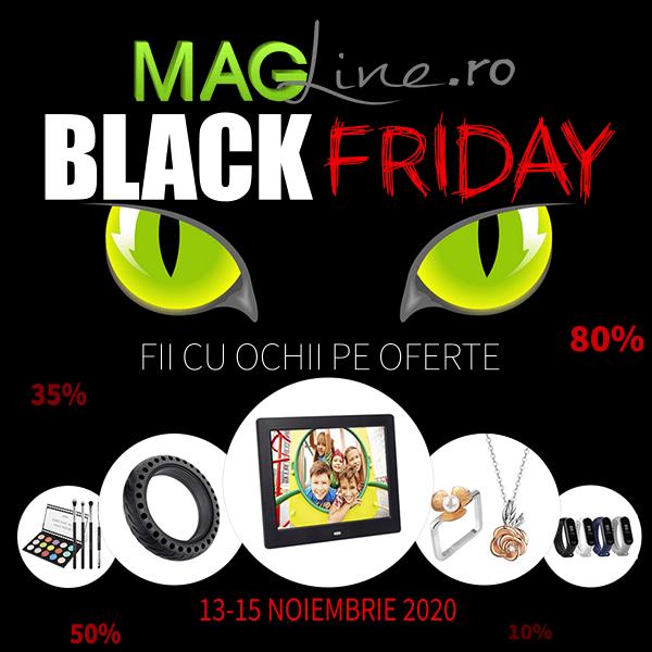 Black Friday la Magline.ro. Reduceri de până la 80% la peste 20.000 de produse