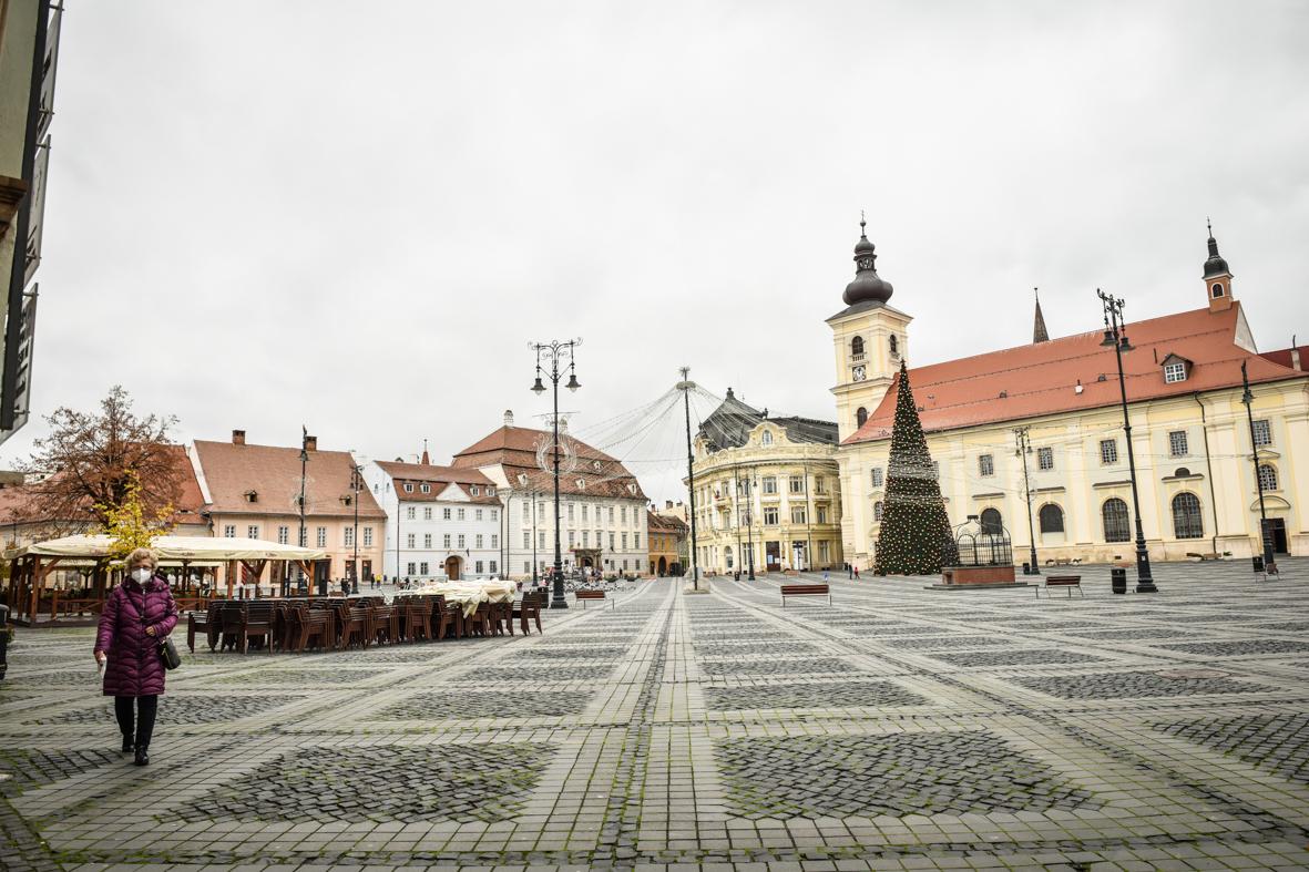 În așteptarea carantinei, municipiul Sibiu se apropie de 13, rată de infectare