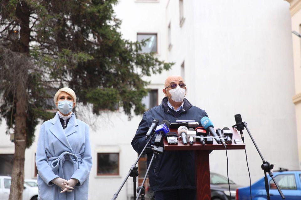 Vicepremierul Turcan explică ce se va întâmpla la Spitalul Județean după ce medicul Liliana Coldea a demisionat